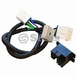 Golf Cart Electrical Gas Harness For  Club Car Precedent Series