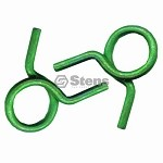 Hose Clamp 2 Set pack Green  7/16