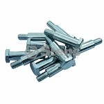 Wheel Bolt Size 1/2 X 1 3/8 Pack Of 10