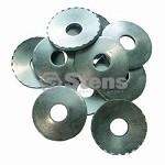 Serrated Blade Washers for Snapper 12063 / 410-804 / 10 Pack