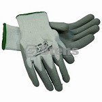 Gray Thermal Glove Latex Palm Coated, Medium