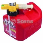 Fuel Can 1 1/4 Gallon Gasoline By No-Spill 1415