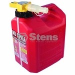 Fuel Can 2 1/2 Gallon Gasoline By No-Spill 1405