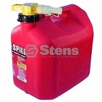 Fuel Can 5 Gallon Gasoline By No-Spill 1450