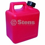 Midwest Fuel Can 1200 Poly Gas Can 1 Gallon, Red