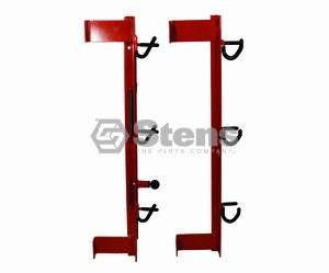 TRIMMER TRAP TRIMMER RACK HOLDS 3 UNITS ON ENCLOSED TRAILERS # ET/TT-2 ORIGINAL