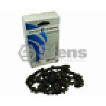 SILVER STREAK CHAIN LOOP 81DL PITCH : .325 GAUGE : .063, S-CHISEL STANDARD