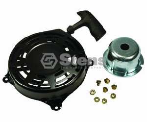 RECOIL STARTER ASSEMBLY FOR BRIGGS & STRATTON # 497598