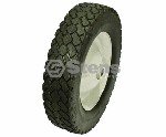 FRONT STEEL LAWN MOWER WHEEL FOR TROY BILT # 1762021