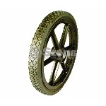 HIGH LAWN MOWER WHEEL FOR NOMA # 332031