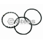 CHROME PISTON RING STANDARD FOR BRIGGS & STRATTON # 299742