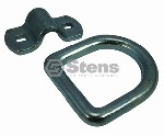 FORGED BOLT-ON LASHING RING / 11,000 LB MAX/4000 LB WORKING