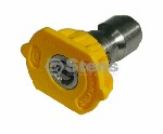 QUICK COUPLER NOZZLE / 15 DEGREE, SIZE 5.0, YELLOW