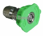 QUICK COUPLER NOZZLE / 25 DEGREE, SIZE 5.5, GREEN