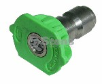 QUICK COUPLER NOZZLE / 25 DEGREE, SIZE 4.5, GREEN