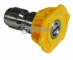QUICK COUPLER NOZZLE / 15 DEGREE, SIZE 3.0, YELLOW