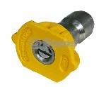QUICK COUPLER NOZZLE / 15 DEGREE, SIZE 3.5, YELLOW