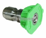 QUICK COUPLER NOZZLE / 25 DEGREE, SIZE 3.0, GREEN