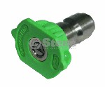 QUICK COUPLER NOZZLE / 25 DEGREE, SIZE 3.5, GREEN