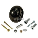 PLASTIC DECK WHEEL KIT FOR JOHN DEERE AM133602